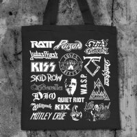 Hair Metal Tote