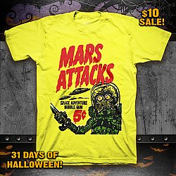 Mars Attacks- (31 DAYS SALE)