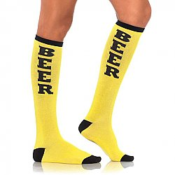 Beer Socks (Yellow)