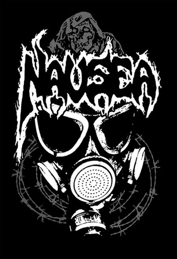 Nausea Band Logo Nausea  l a  Nausea Band Logo