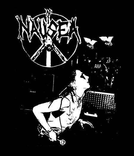 Nausea Band Logo NauseaNausea Band Logo