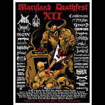 Maryland Deathfest XII Poster