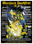 Maryland Deathfest XI Poster